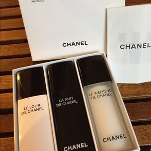 Chanel beauty moisturizer set